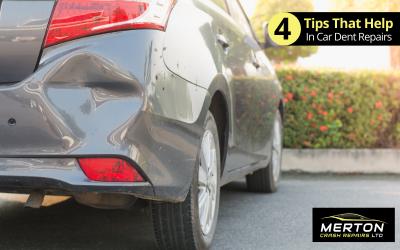 4 Tips That Help in Car Dent Repairs