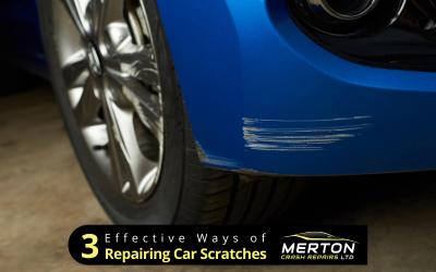 3 Effective Ways of Repairing Car Scratches